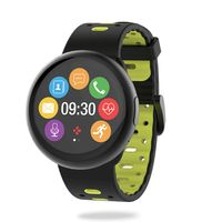 Mykronoz Smart Watch Zeround 2 HR Black Yellow