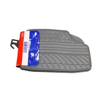 Sparco Car Mat Pvc Grey