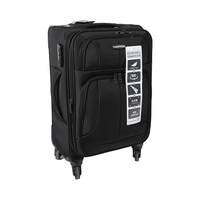 Travel House Soft Luggage 4 Wheels Size 20 Inch Black