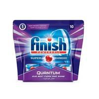 Finish Dishwasher Quantum Tablets X10 Pieces