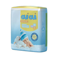 Oui Oui Diapers New Born 2-5KG 64 Sheets
