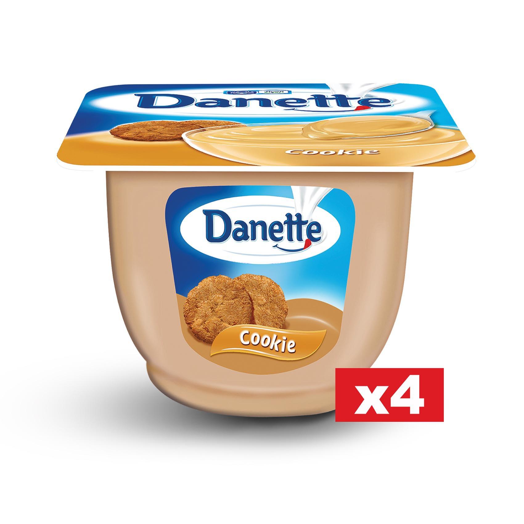 DANETTE CREAM DESSERT COOKIES 90GX4