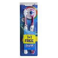Oral-B Complex Five-Sided Cleaning Medium Toothbrush 1 Piece + 1 Pieces Free