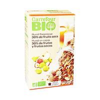 Carrefour Bio 30% Fruit Muesli Cereal 500GR