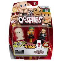Ooshies WWE 4 Pack  - Assorted