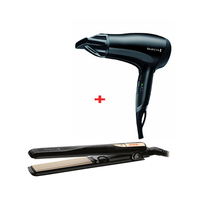 Remington Hair Dryer D3010 + Hair Straightener S1005