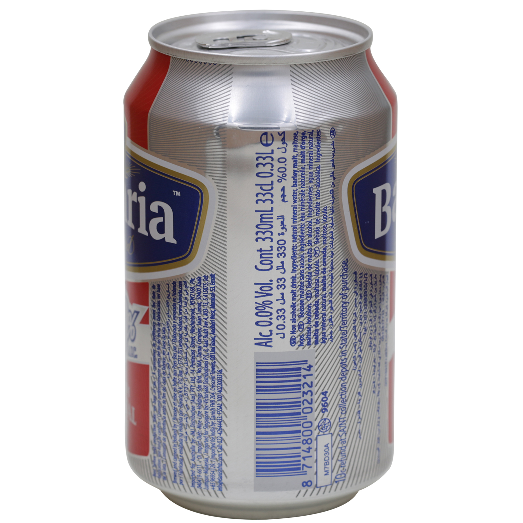 BAVARIA N/A REGULAR CAN 330 ML