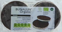 Bunalun Organic Dark Chocolate Rice Cakes 100g