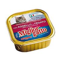 Miglior Gatto Con Angello E Fegato With Lamb & Liver 100GR