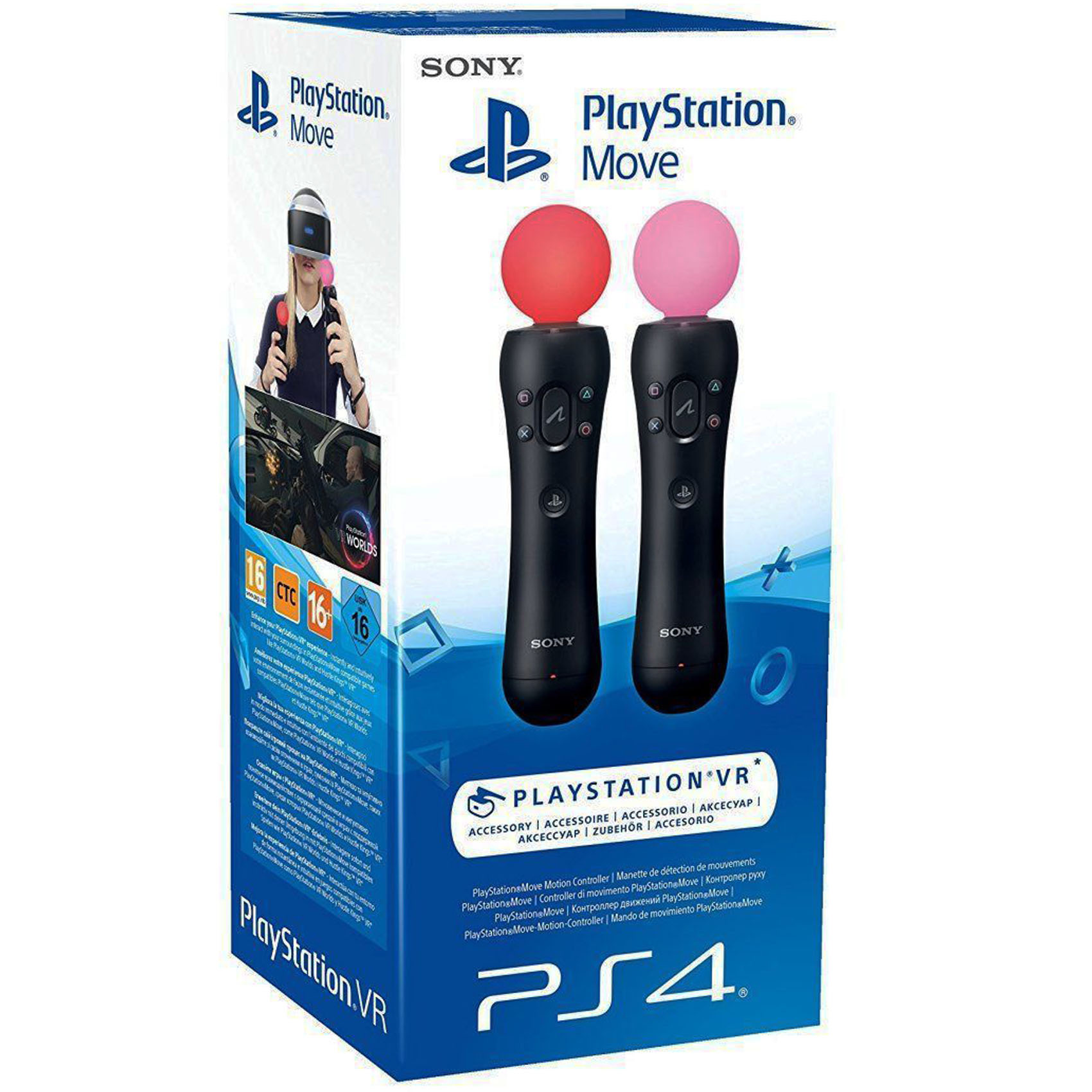 SONY PS MOVE CONTROLLER TWINPACK