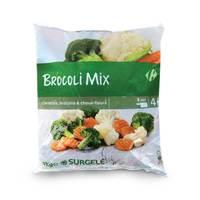 Carrefour brocolis mix 1kg