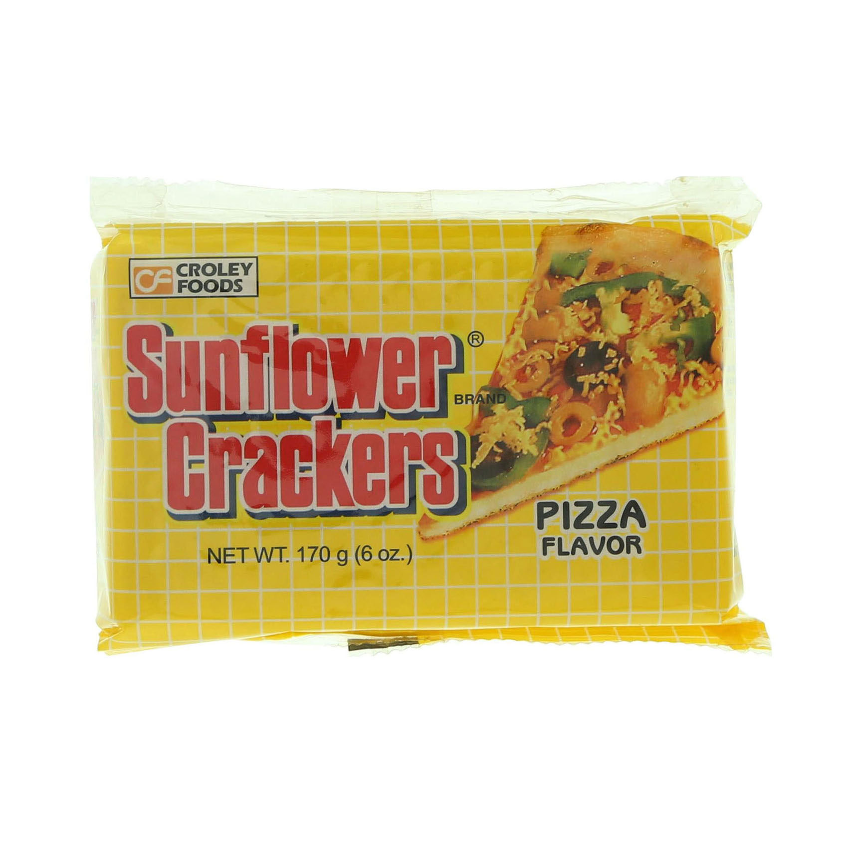 SUNFLOWER CRACKERS PIZZA 170GR
