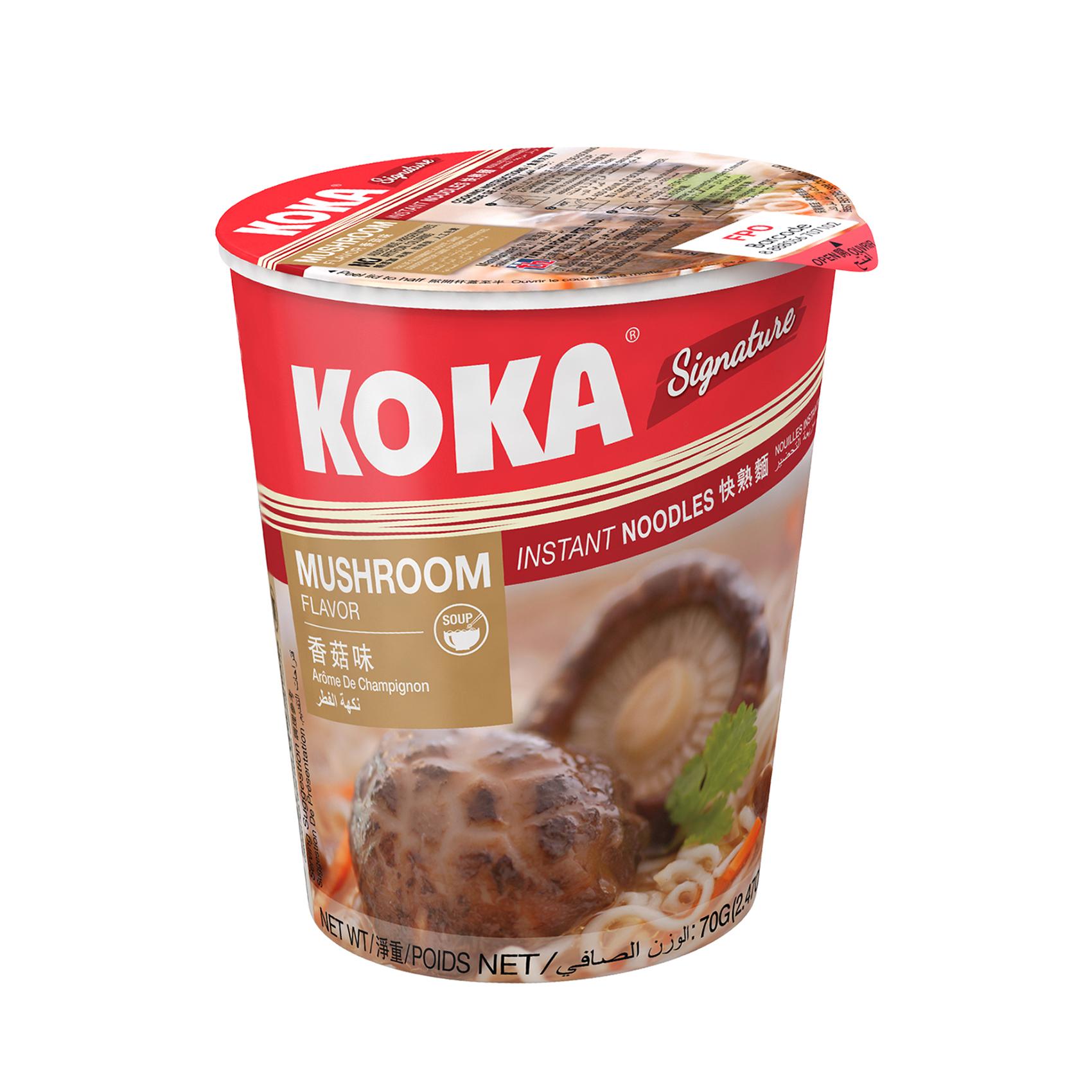 KOKA CUP NOODLES MUSHROOM 70GR