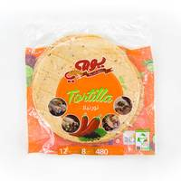 Yaumi tortilla warps spicy bread 12 pieces - 480 g