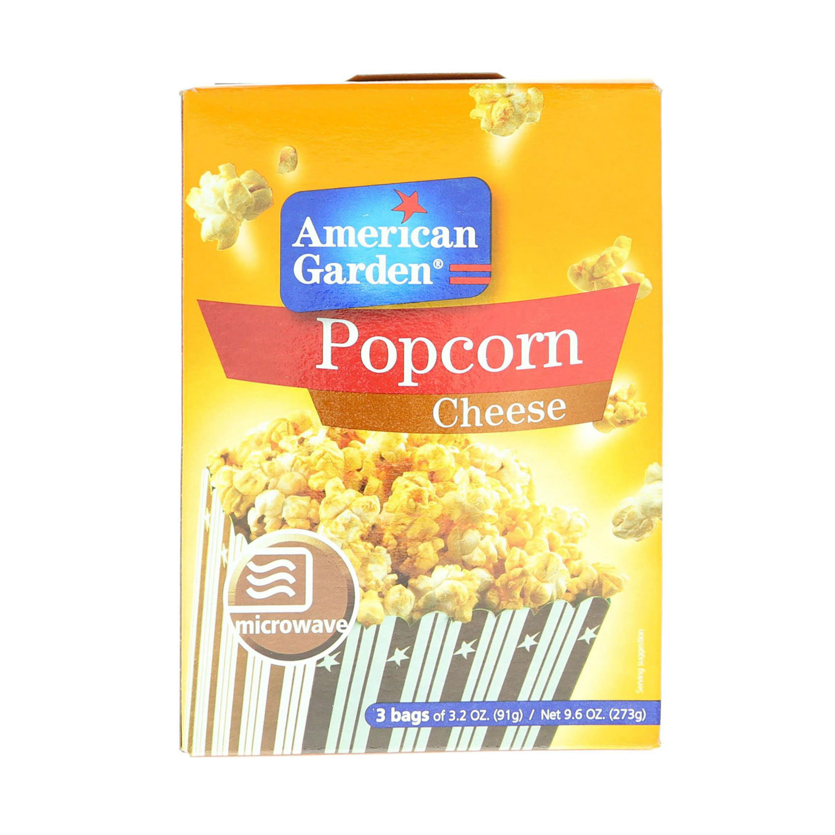 AMERICAN G. POPCORN CHEESE 273G
