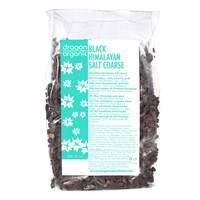 Dragon Superfoods Black Organic Himalayan Salt Coarse 250g