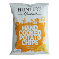 Hunter's Gourmet Hand Cooked Potato Chips Sweet Chili Chutney 125g