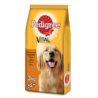 PEDIGREE® Chicken & Vegetables Dry Dog Food Adult 3kg