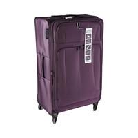Travel House Soft Luggage 4 Wheels Size 32 Inch Purple
