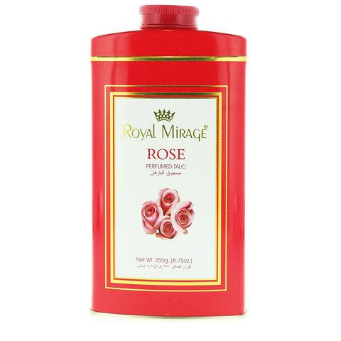 Royal-Mirage-Rose-Perfumed-Talc-250g