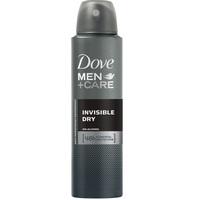 Dove Men+Care Antiperspirant Deodorant Invisible Dry 150ml