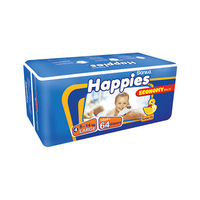 Happies Diapers Giant Pack+ Regular + Mattress Size 4