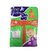 Fine Baby Diapers Green Jumbo Junior