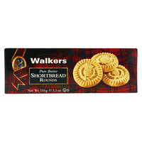 Walkers Pure Butter Shortbread Rounds 150 g