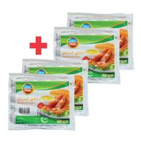 BUY 2 + 2 FREE Nabil Chicken Franks 340g