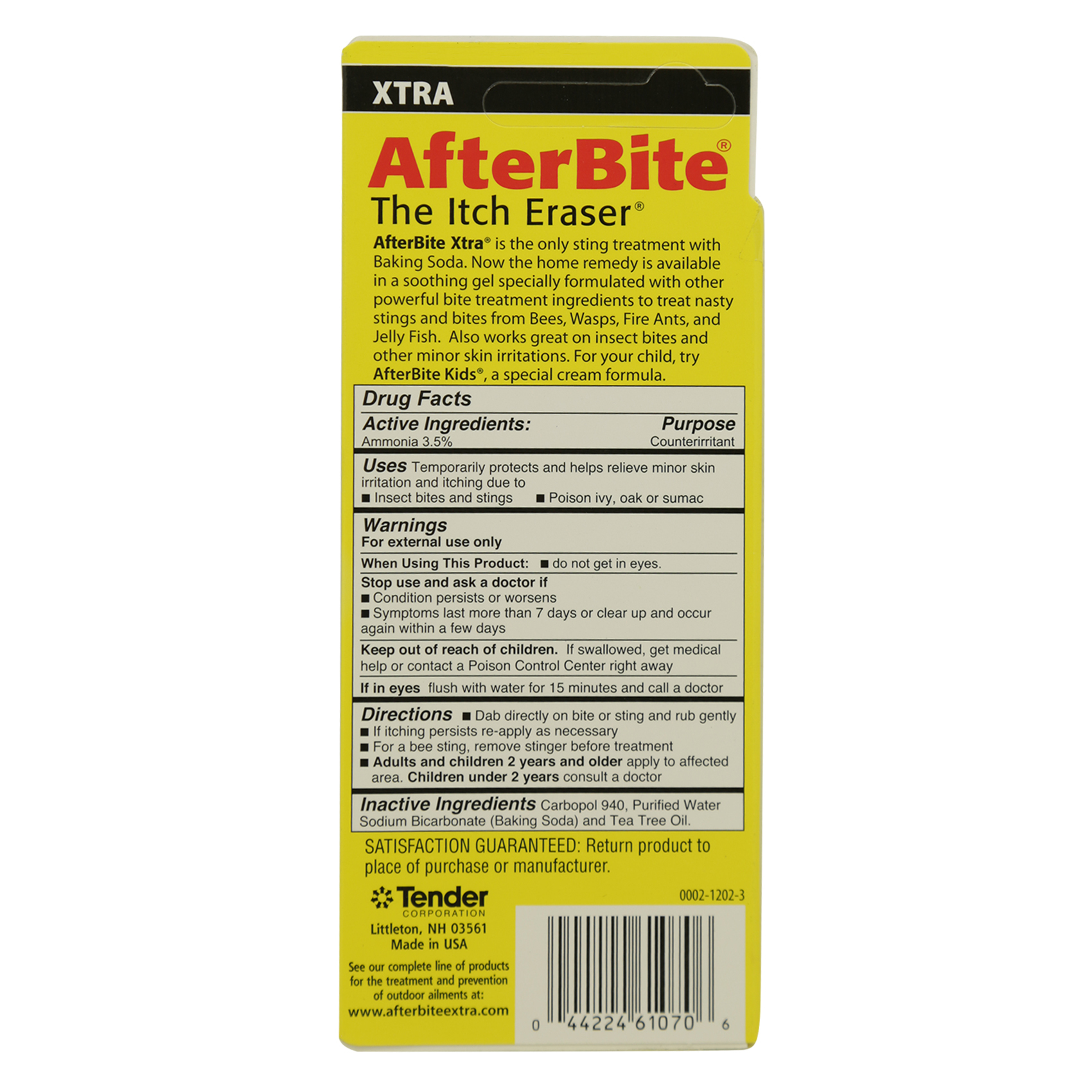 XTRA A/BITE INSTANT STINGRELIEF 20G