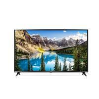 تلفزيون إل جي سمارت بشاشة ألترا إتش دي بتقنية 4K حجم 49 إنش موديل 49UJ630V لون أسود