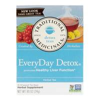 Traditional Medicinals Everyday Detox Tea 24g