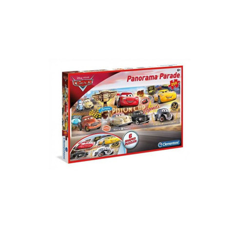 Clementoni-Puzzle-Panorama-Parade-Cars-250-Pieces