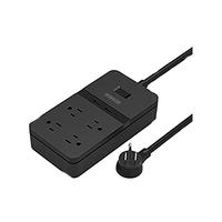 Go 4 Cables Power Bar 4 Output 2500Watt 2Usb