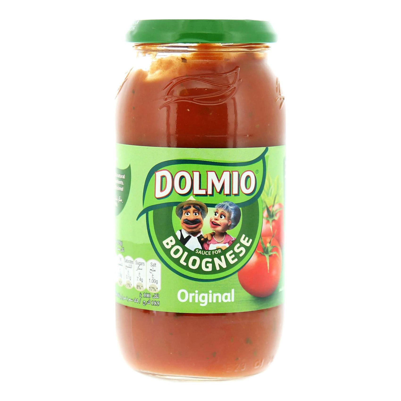 DOLMIO PASTA ORIGINAL SAUCE 500GR