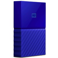 WD Hard Disk 1TB My Passport Blue Worldwide