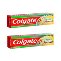 Colgate Toothpaste Herbal Miswak 125ML X2 -20% Offer