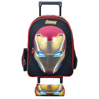 Avengers Iron Man 2018 Trolley Case  18 Inch + Pencil Case
