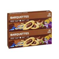 Carrefour Chocolate Hazelnut Biscuits 2 pieces x 120 g