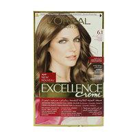 L'Oreal 6.1 Dark Ash Blonde Excellence Creme