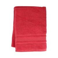 كنزي منشفة يدين قياس 50x100 سم لون أحمر