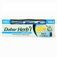 دبور معجون أسنان مبيض بالملح والليمون 150 جرام