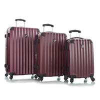 Heys Ridge 4W Trolley 3Pcs Set Maroon