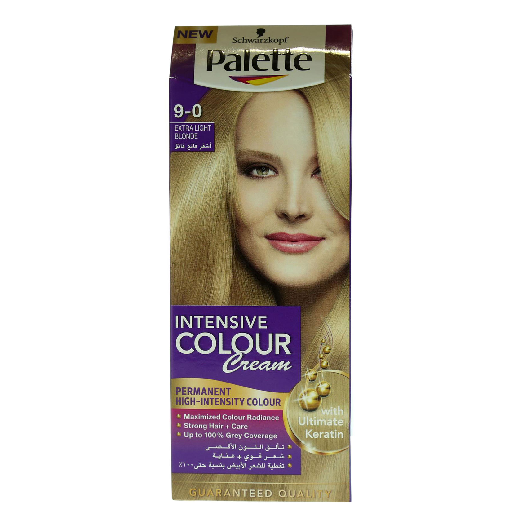 PALETTE SEMI KIT 9-0 LIGHT BLOND
