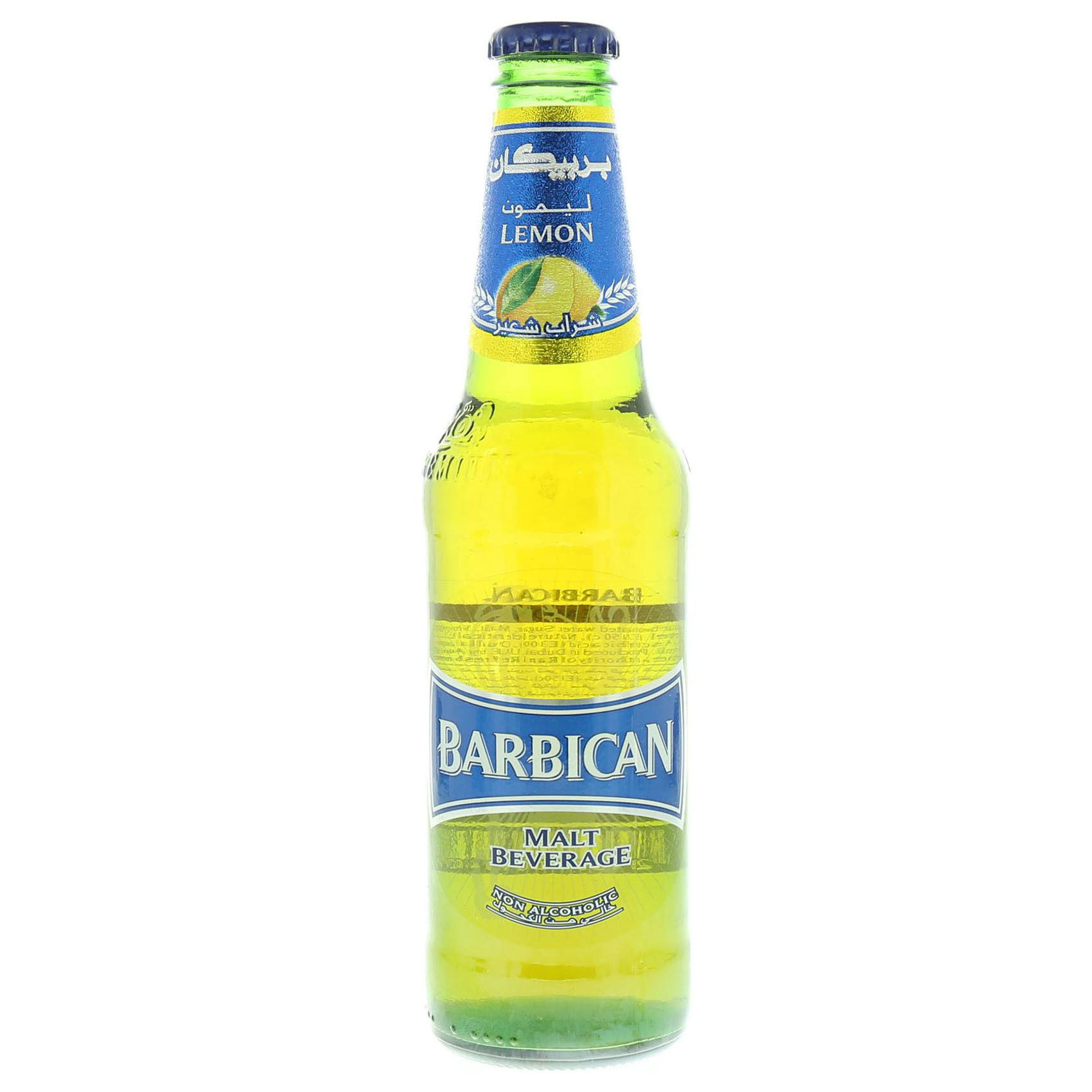BARBICAN N/ALCO BEER LEMON 330ML