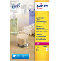 Avery Crystal Clear Label SL7782-25