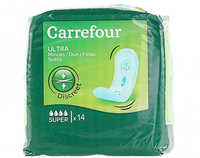 Carrefour Pads Ultra Super Thin 14 Pieces