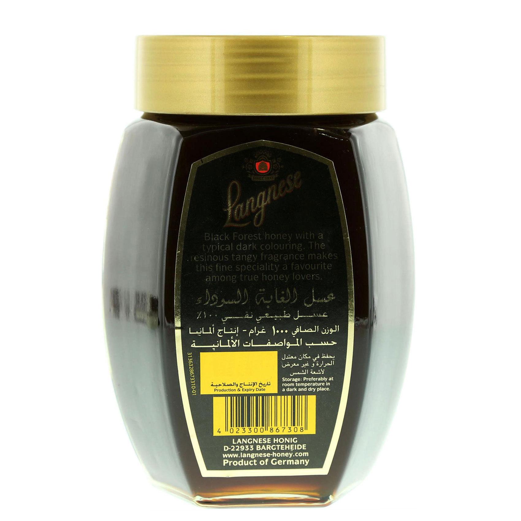 LANGNESE BLACKFOREST HONEY  JAR 1KG