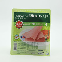 Carrefour Turkey Ham 4 Slices 160 g