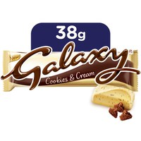 Galaxy® Cookies & Cream Chocolate Bar 38g